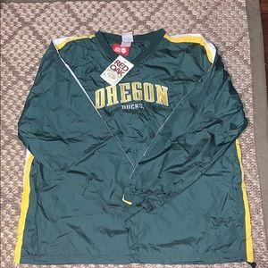 Vintage Red Oak Sportswear Oregon Windbreaker